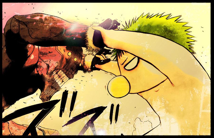 Манга Beelzebub / Вельзевул Манга Beelzebub Глава # 46 - Малыш Вельзи Гигант!!, страница 1